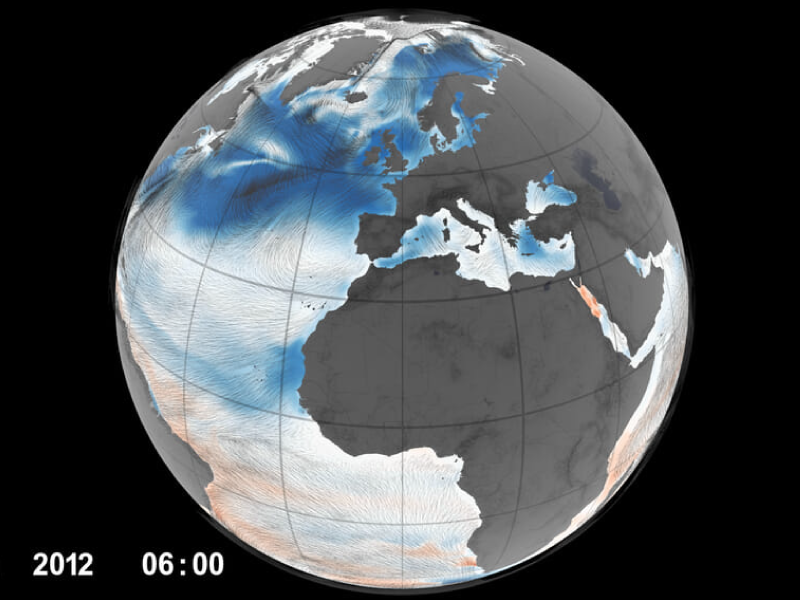 Ocean surface winds and CO2 flux